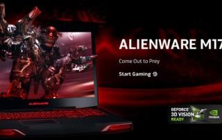 Alienware M17X 3D Bluray