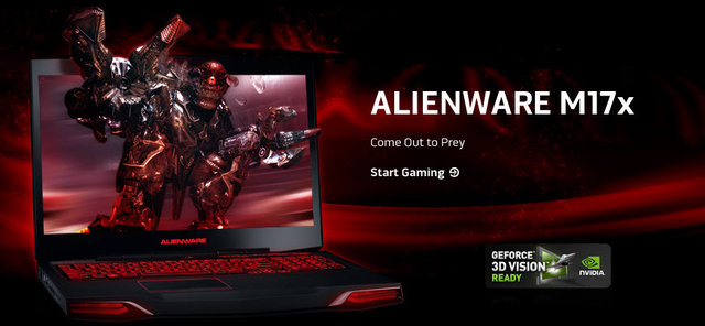 Alienware M17X 3D Bluray